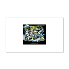 (HYPHY) GHOST RIDE THE WHIP Car Magnet 20 x 12