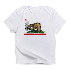CALIFORNIA BRING DAT BEAT BAC Infant T-Shirt