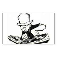 BRING DAT BEAT BACK Sticker (Rectangle 10 pk)