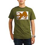OLD SKOOL Organic Men's T-Shirt (dark)