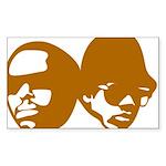 OLD SKOOL Sticker (Rectangle 50 pk)