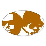 OLD SKOOL Sticker (Oval 10 pk)