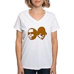 OLD SKOOL Women's V-Neck T-Shirt