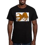 OLD SKOOL Men's Fitted T-Shirt (dark)