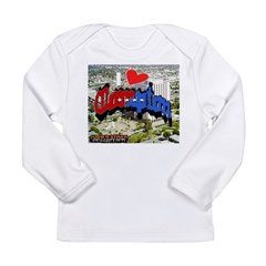 I LOVE COMPTON Long Sleeve Infant T-Shirt