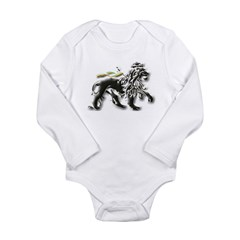 Lion of Judah Long Sleeve Infant Bodysuit
