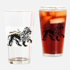 Cool Rasta Drinking Glass