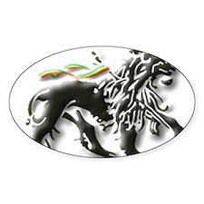 JAH LION OF JUDAH. Decal
