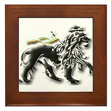 Cute Judah Framed Tile