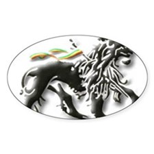 Funny Lion judah Decal