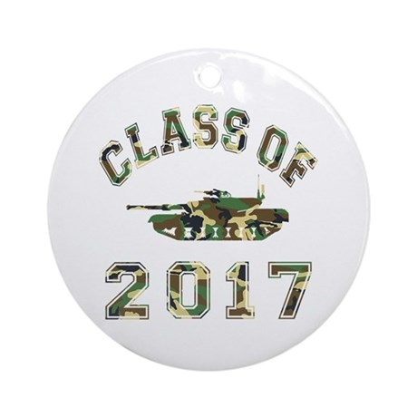 Class Of 2017 Military School Ornament (Round)