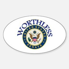 VOTE THEM OUT Sticker (Oval 10 pk)
