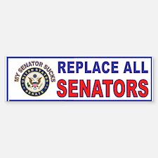 VOTE THEM OUT Sticker (Bumper)