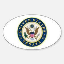 VOTE THEM OUT Sticker (Oval)
