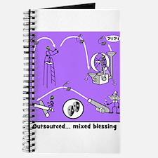 Outsource Humor Art Journal