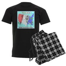Budget Humor Art Pajamas