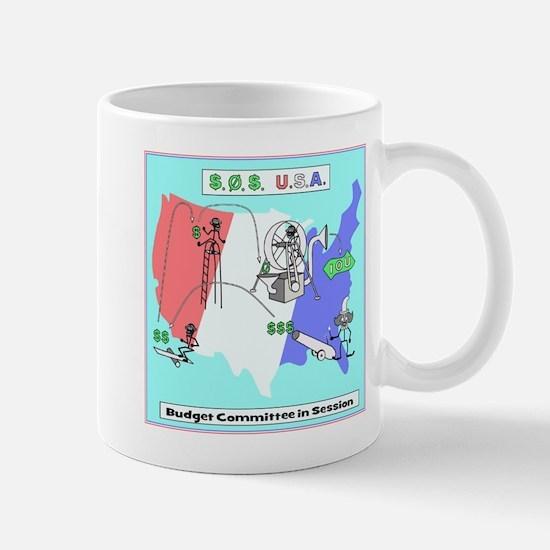 Budget Humor Art Mug