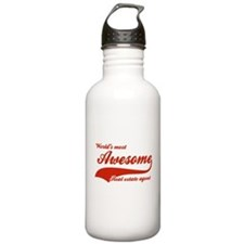 World's Most Awesome Real estate agent Water Bottle