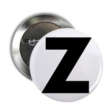 "Letter Z 2.25"" Button (10 pack)"