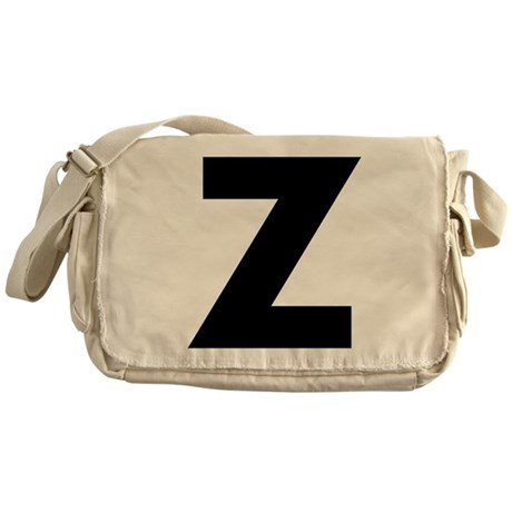 Letter Z Messenger Bag