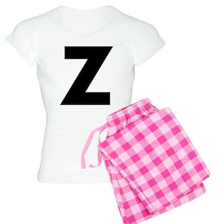 Letter Z Women's Light Pajamas