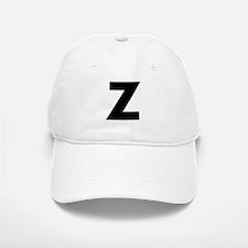 Letter Z Baseball Baseball Cap