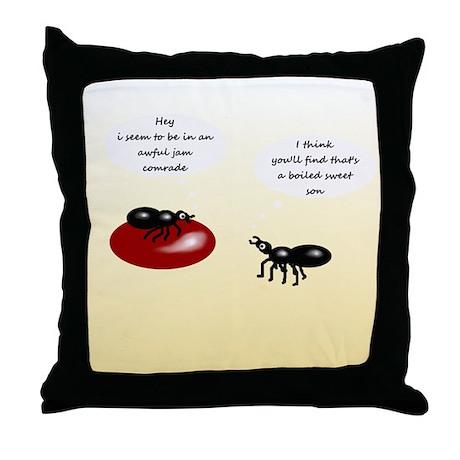 In a Jam, Throw Pillow