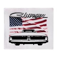 Unique 69 dodge charger Throw Blanket