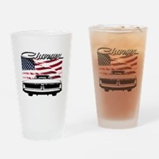 Unique Dodge charger Drinking Glass