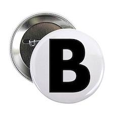 """Letter B 2.25"""" Button"""