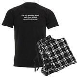 Mens Men's Dark Pajamas