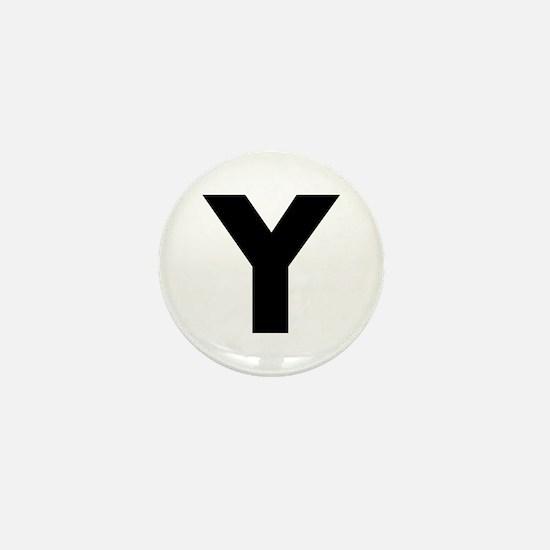 Letter Y Mini Button