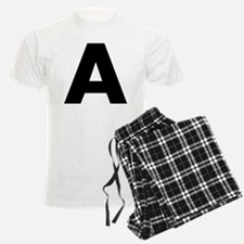 Letter A Pajamas