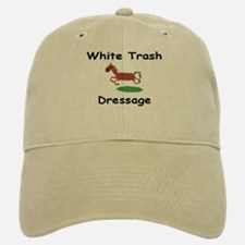 WTD Logo Baseball Baseball Cap (White or Khaki)