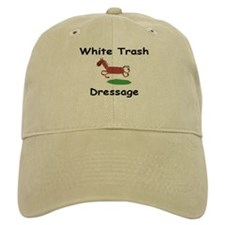 WTD Logo Baseball Cap (White or Khaki)