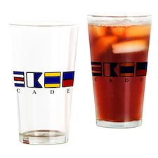 nautical cade Drinking Glass