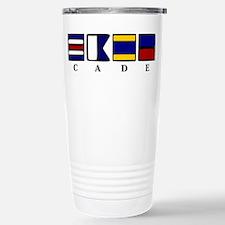 nautical cade Stainless Steel Travel Mug