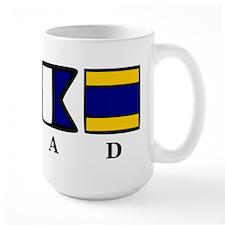 nautical chad Mug