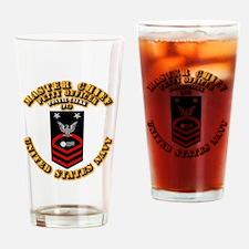 Postal Clerk (PC) Drinking Glass