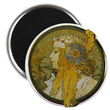 "Byzantine Blonde Head 2.25"" Magnet (100 pack)"