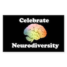 Celebrate Neurodiversity Bumper Stickers