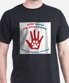 Stop The Dog Meat Trade T's and Tanks T-Shirt