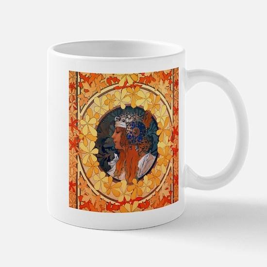 Byzantine Blonde Head Mug