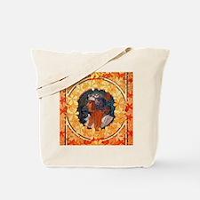 Byzantine Blonde Head Tote Bag