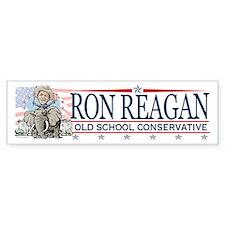 Ron Reagan GOP Elephant Bumper Sticker