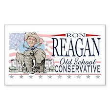 Ron Reagan GOP Elephant Decal