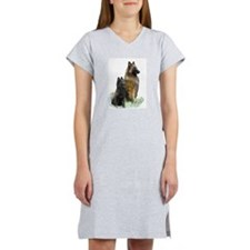 Mother and Pup Women's Nightshirt