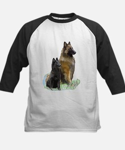 Mother and Pup Kids Baseball Jersey