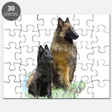 Mother and Pup Puzzle
