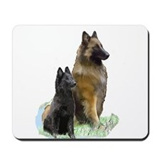 Mother and Pup Mousepad